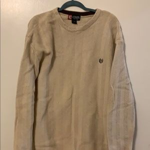 Cream Chaps Sweater Size XL